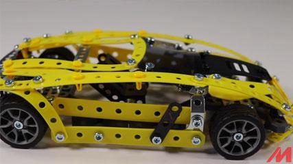 Meccano Chevy Corvette: Meccano/Erector | Chevrolet Corvette (17301)