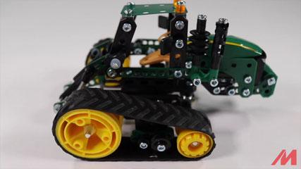 Meccano F18 John Deere 9RT: Meccano/Erector | John Deere 9RT Tractor (17302)