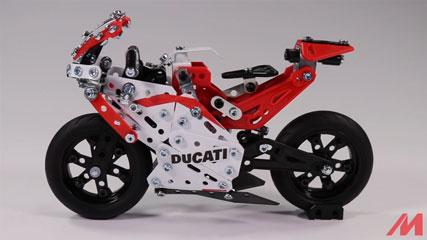 Meccano F18 Ducatoi Moto GP MASTER: Meccano/Erector | Ducati Desmosedici MotoGP (18301)