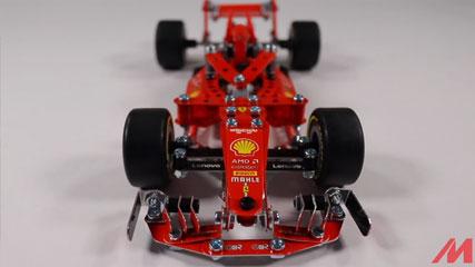Meccano F18 Ferrari F1 MASTER: Meccano/Erector| Ferrari F1 Grand Prix Racer (18303)