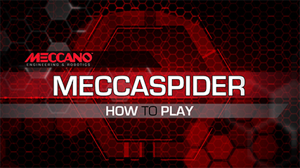 MECCANO- MECCASPIDER HOW TO PLAY