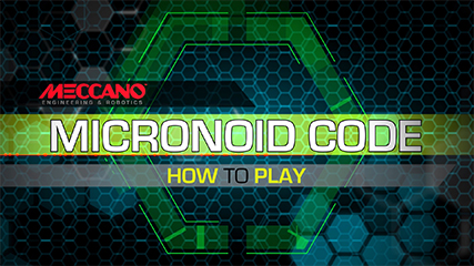 MECCANO- MICRONOID CODE HOW TO PLAY