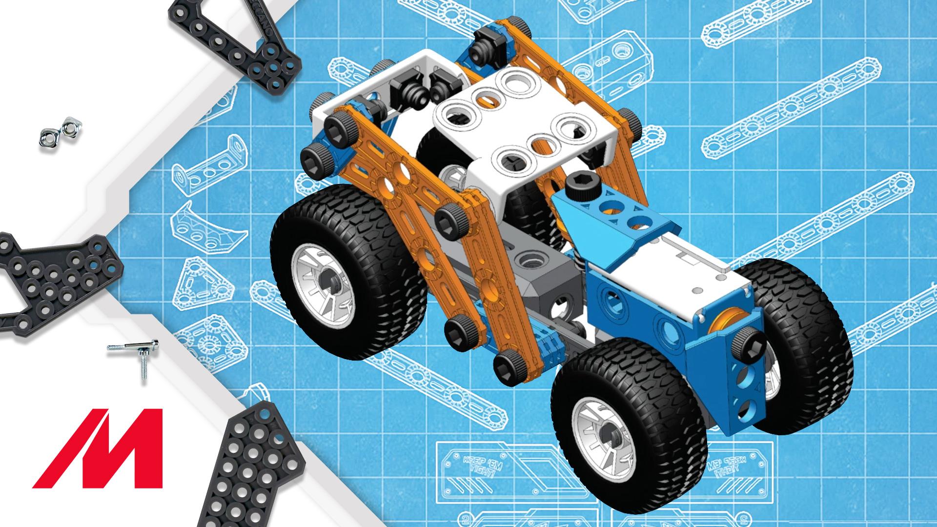 Meccano/Erector Junior | How-To Build Free Play Bucket Build #4
