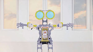 The New Meccanoid G15 Commercial