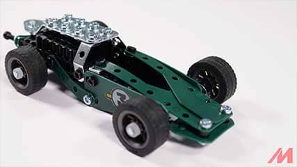 Meccano 18202 5 Model Roadster Build 2